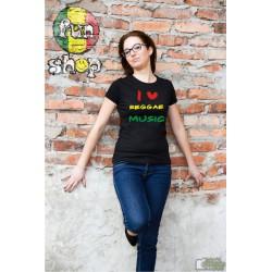 Koszulka LOVE REGGAE