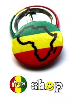 Przypinka Afryka
