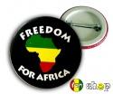 Przypinka FREEDOM FOR AFRICA