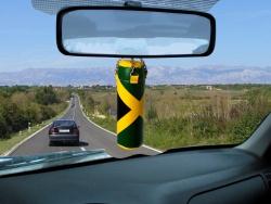Zawieszka samochodowa jamajka