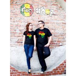 Koszulka I love reggae