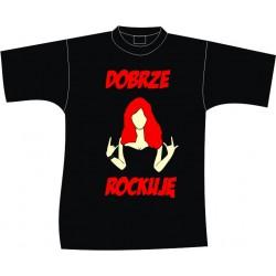 Koszulka DOBRZE ROCKUJE